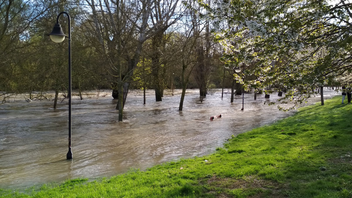 Inundaciones abril 2018. Arga