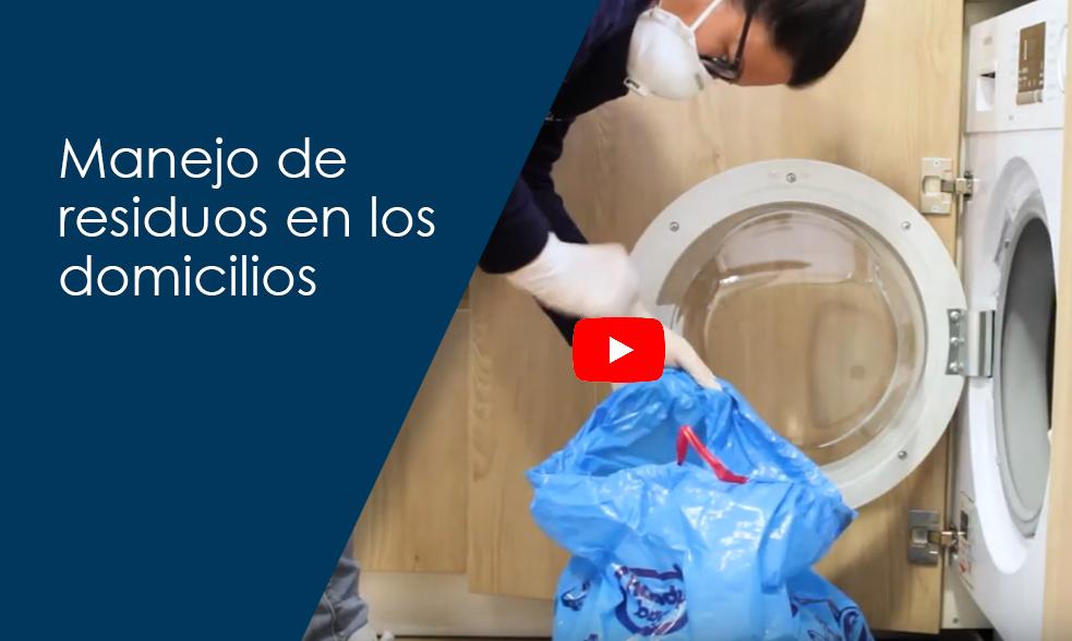 Manejo de residuos en los domicilios