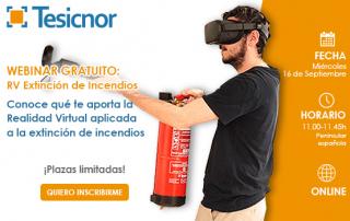 Webinar Gratuito: VR Extinción de Incendios