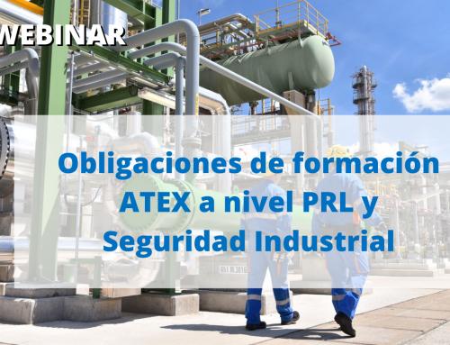Webinar Gratuito 18 junio- Obligaciones de formación ATEX